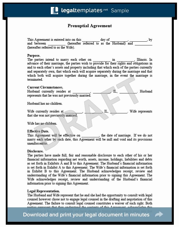 Prenuptial Agreement Texas Template Beautiful Prenuptial Agreement Massachusetts Special Prenuptial
