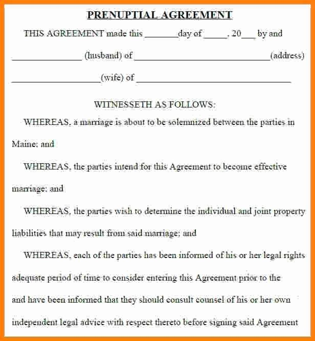 Prenuptial Agreement Texas Template Best Of 46 Special Prenuptial Agreement Colorado Gi C