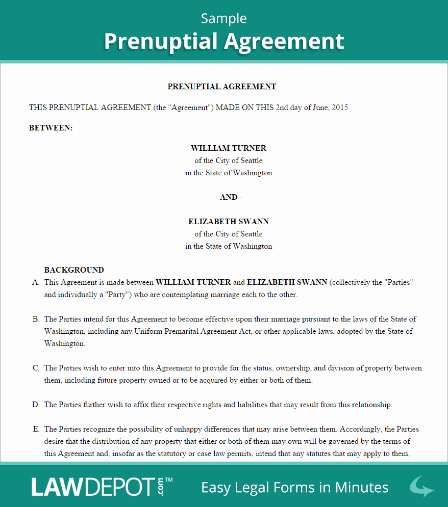 Prenuptial Agreement Texas Template Fresh Free Prenuptial Agreement Create Download and Print
