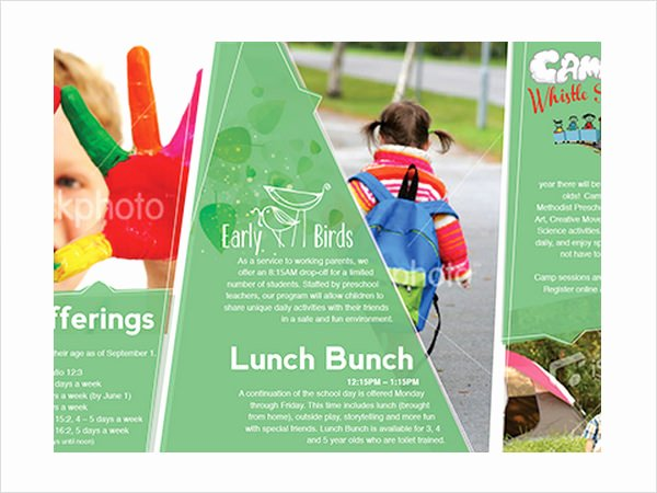 Preschool Flyer Template Free Awesome Free 14 Preschool Brochures In Illustrator