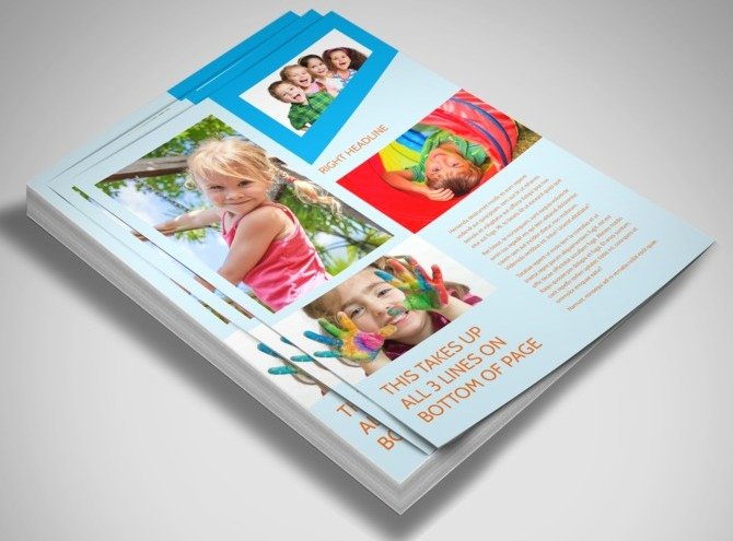 Preschool Flyer Template Free Fresh Fun Preschool Flyer Template