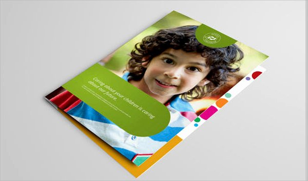 Preschool Flyer Template Free Luxury Free 14 Preschool Brochures In Illustrator