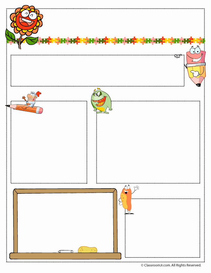 Preschool Newsletter Templates Free New May Teacher Newsletter Template