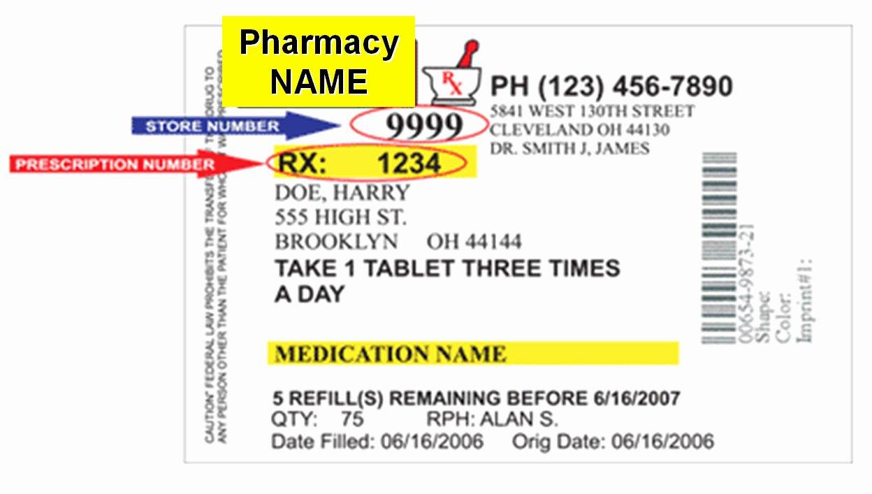 Prescription Template Microsoft Word Beautiful Prescription Bottle Label Template