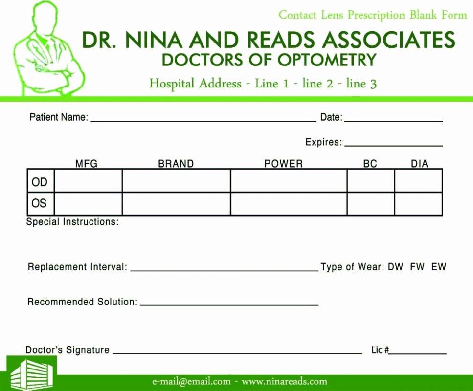Prescription Template Microsoft Word Luxury Prescription Pad Template