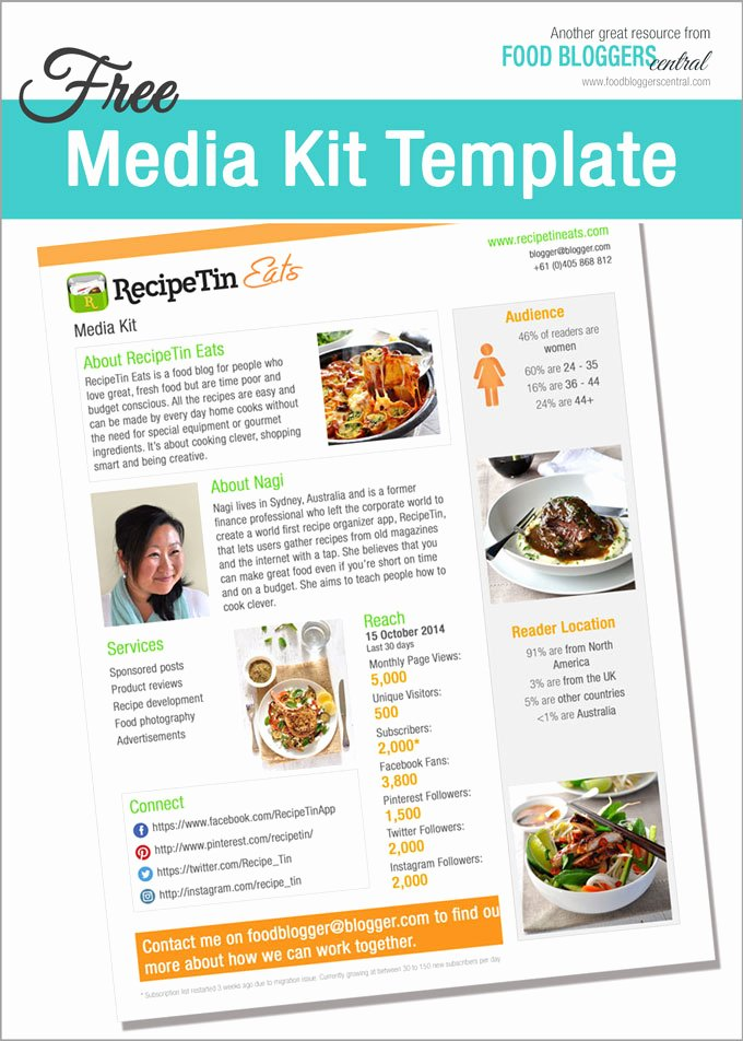 Press Kit Template Free Beautiful Media Kit Template Free