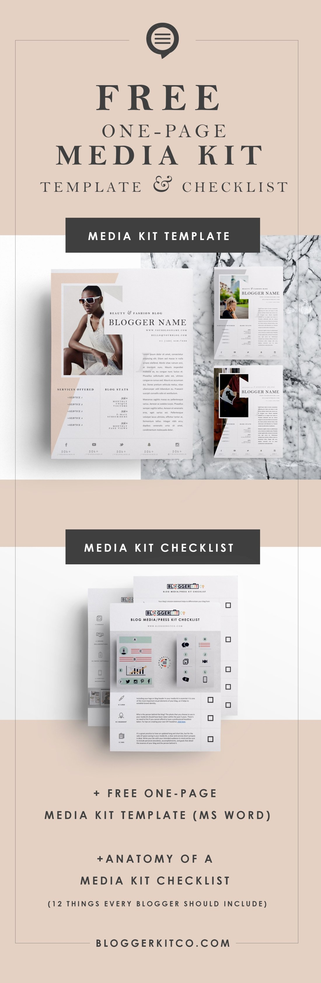 Press Kit Template Free Best Of Anatomy Of A Media Kit What Every Blogger Should Include