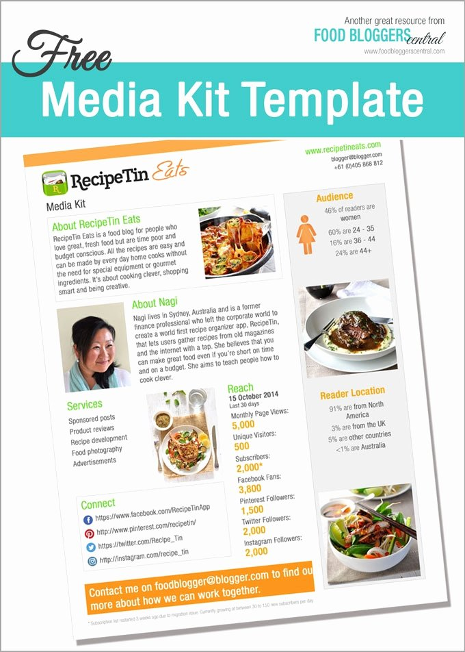Press Kit Template Free Best Of Media Kit Template