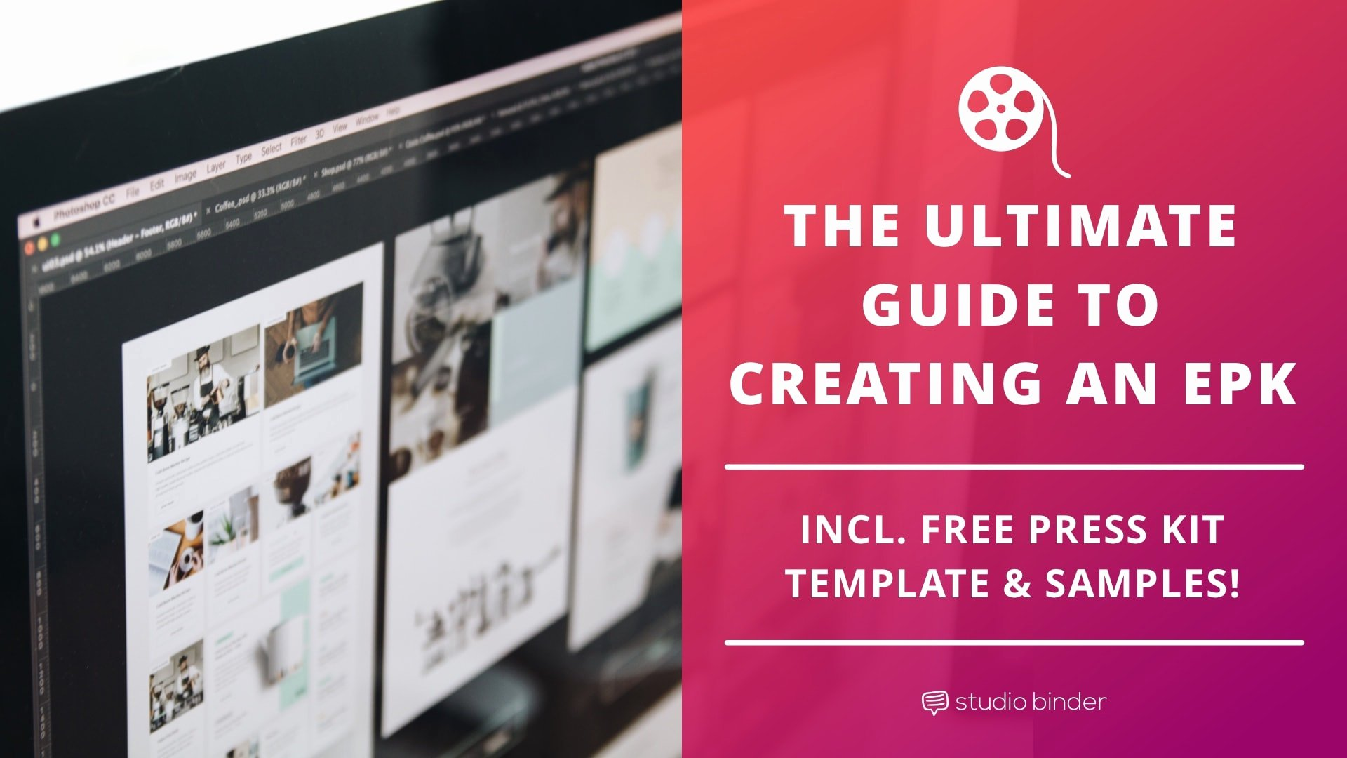 Press Kit Template Free Fresh the Ultimate Guide to Creating An Epk with Free Template