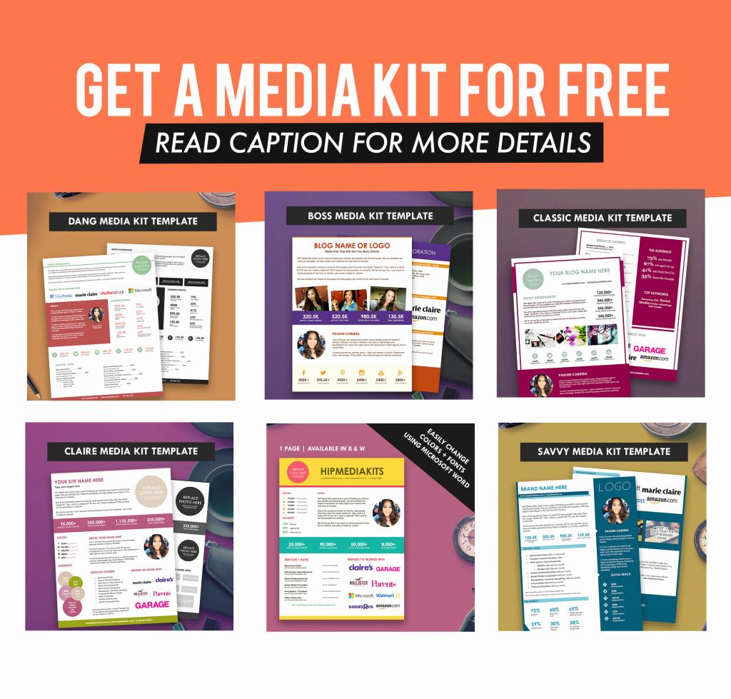 Press Kit Template Free Luxury Pauline Cabrera Author at Hip Media Kit Templates