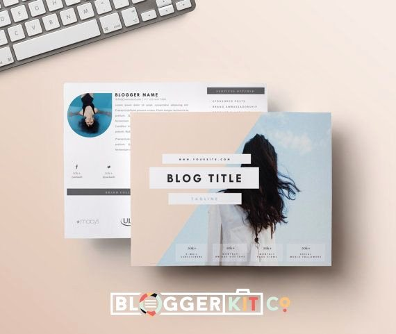 Press Kit Template Word Best Of Two Page Media Kit Template Horizontal