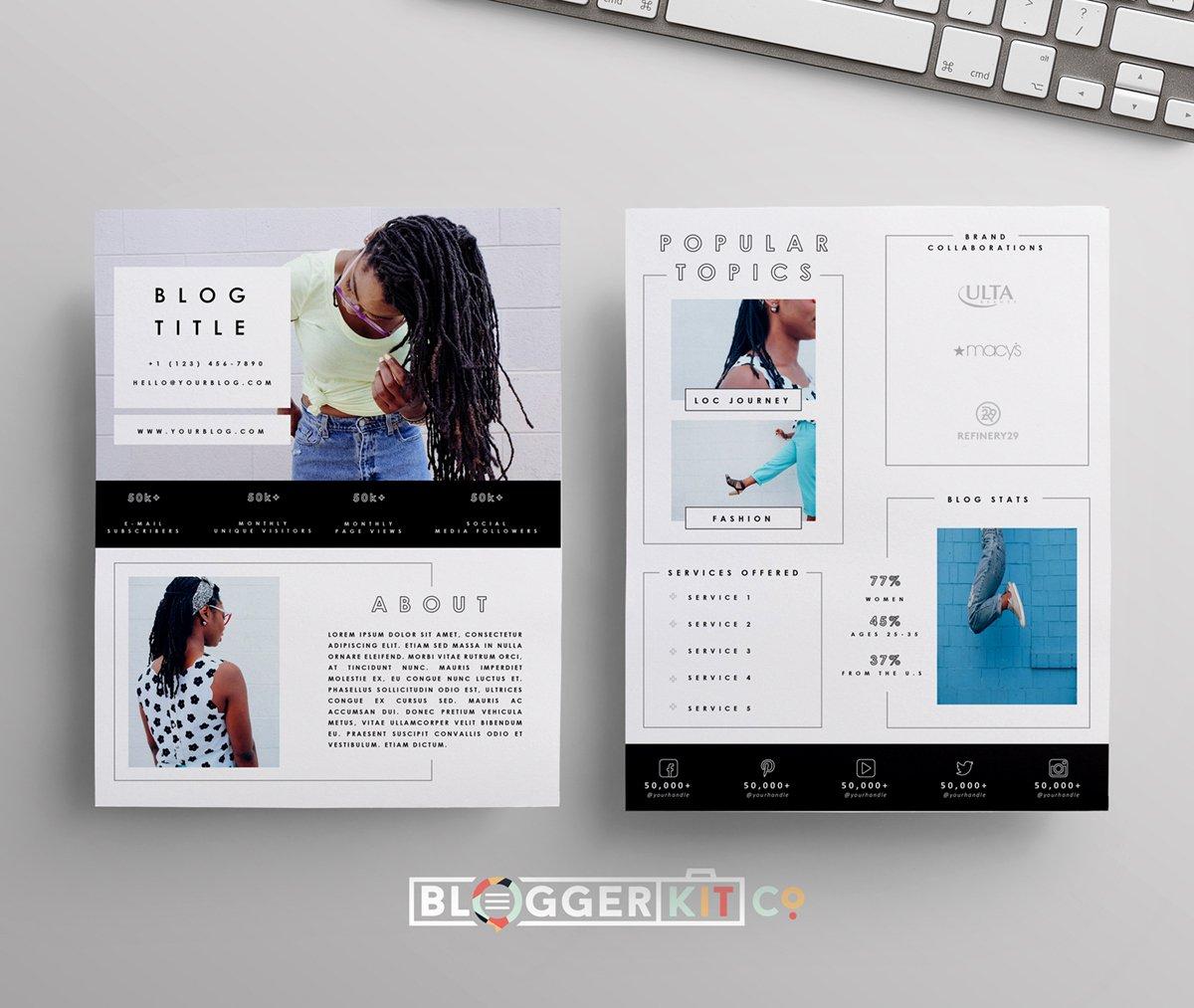 Press Kit Template Word Elegant A Vibrant Thing Iii Media Kit Template