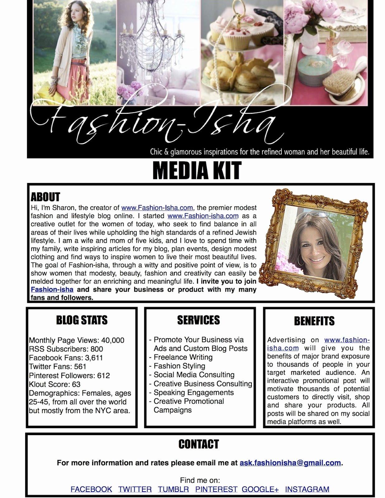 Press Kit Template Word Fresh Media Kit Template