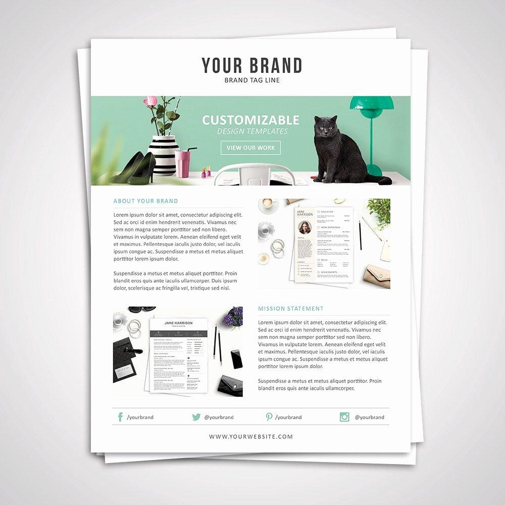 Press Kit Template Word Luxury Product Media Kit Template 07 Press Kit Pitch Kit