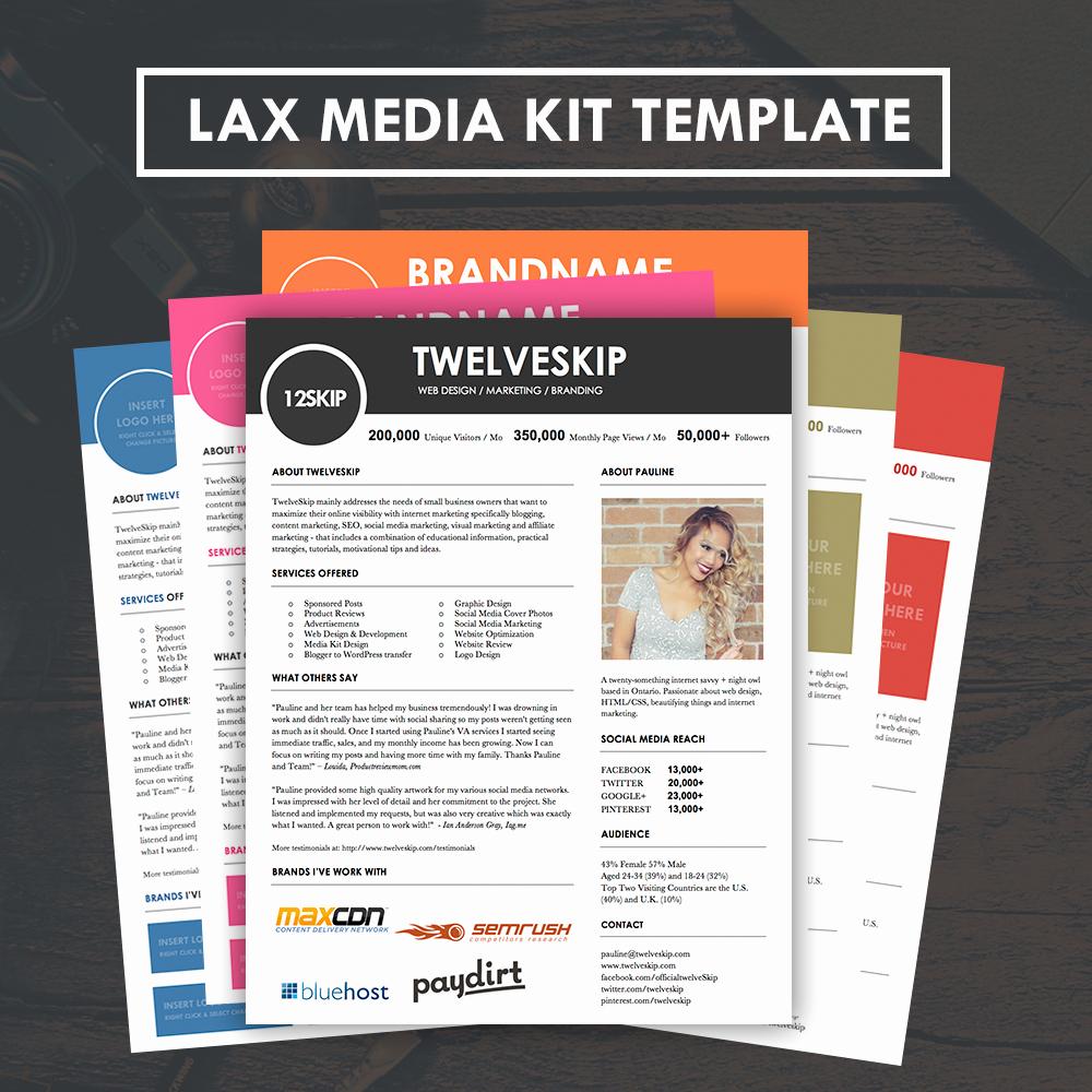 Press Kit Template Word Unique Lax Media Kit Template Hip Media Kit Templates