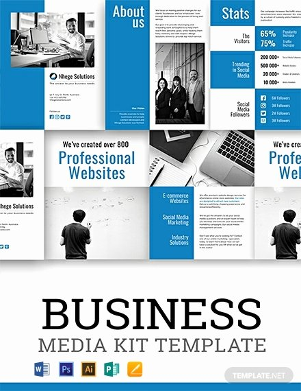 Press Kit Templates Free Elegant 29 Free Media Kit Templates [download Ready Made Samples