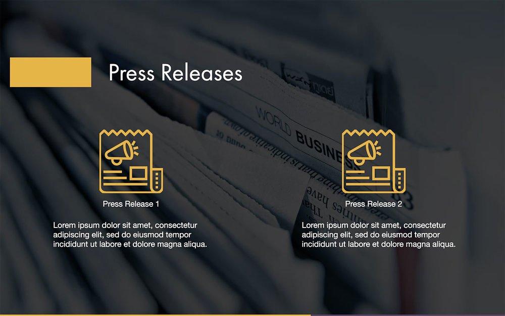 Press Kit Templates Free Fresh Press Kit Template Free Pdf & Ppt Download — Slidebean