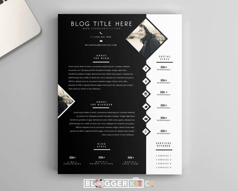 Press Kit Templates Free Inspirational E Page Media Kit Template Press Kit Template by