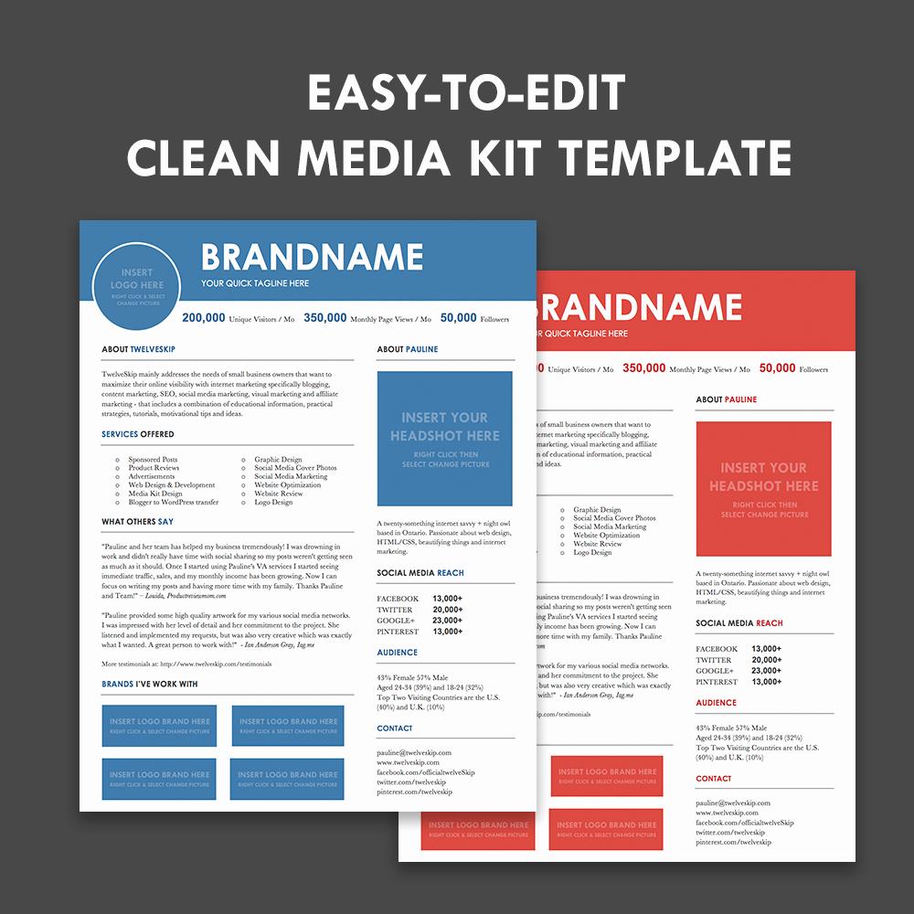 Press Kit Templates Free Lovely Lax Media Kit Template Hip Media Kit Templates