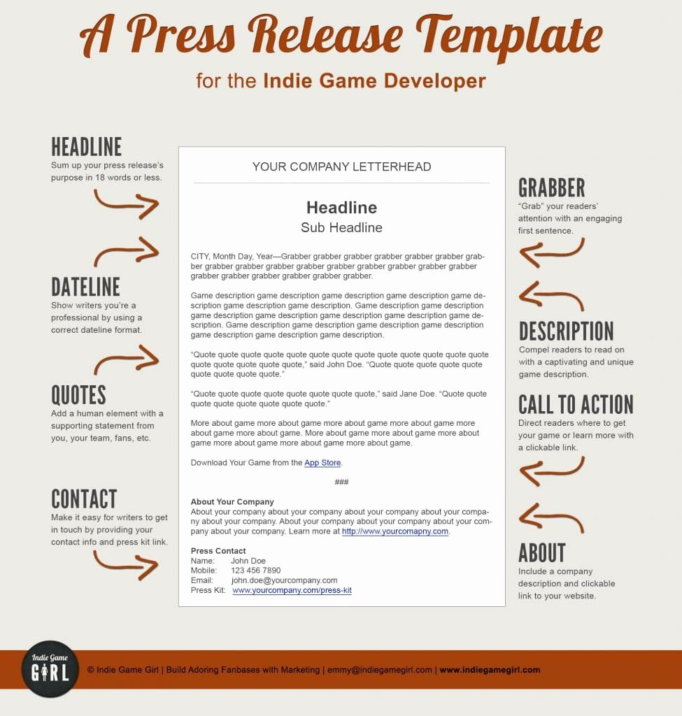 Press Release Template Free Awesome How to Give An Line Press Release and Do It Well