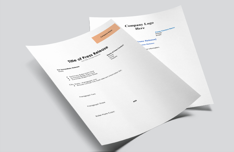 Press Release Template Free Lovely How to Write Press Releases with 21 Examples and 7 Templates
