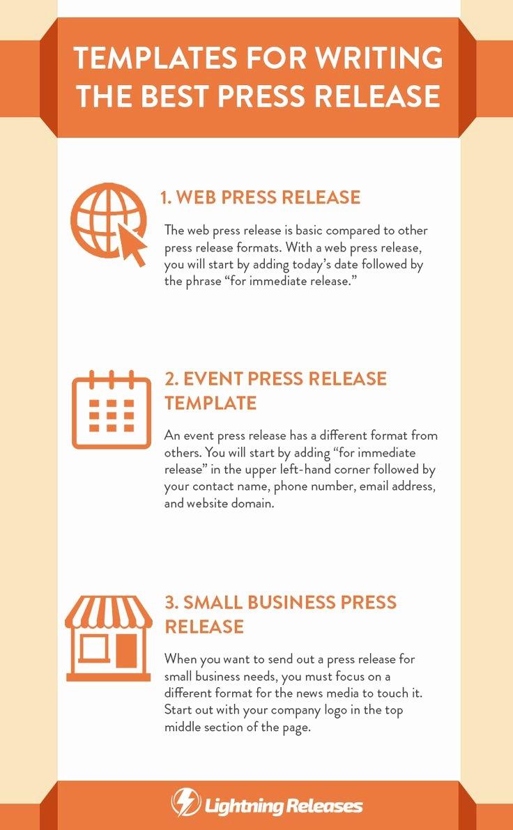 Press Release Template Free Luxury 25 Best Ideas About Press Release On Pinterest