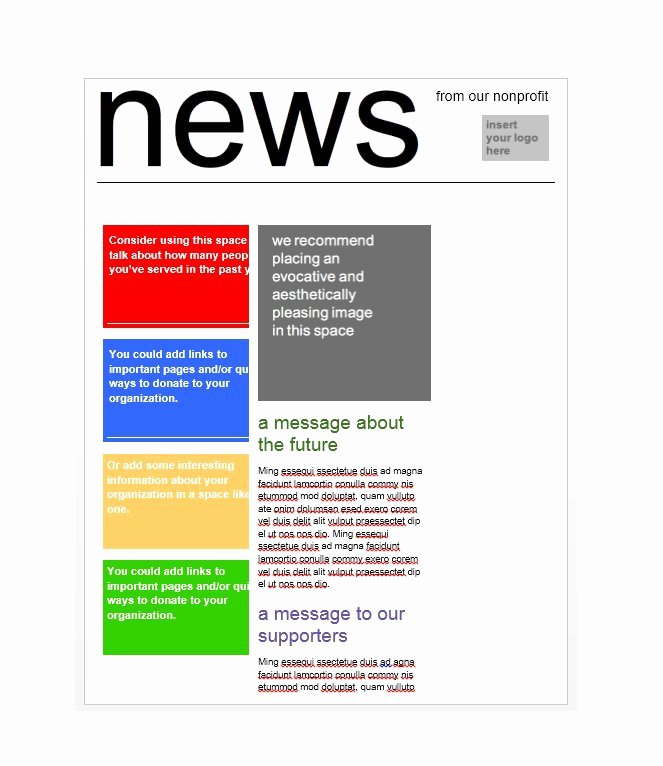 Print Newsletter Template Free Awesome 50 Free Newsletter Templates for Work School and Classroom