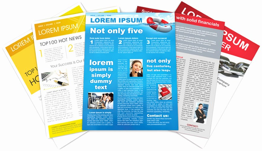 Print Newsletter Template Free Best Of Newsletter Templates Free Printable
