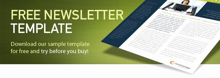 Print Newsletter Template Free Elegant Newsletter Templates Free Printable
