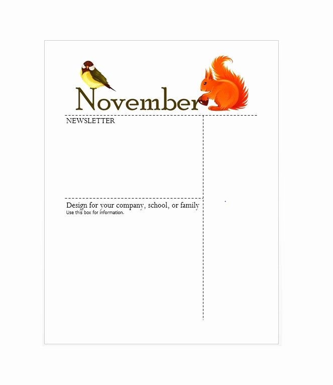 Print Newsletter Template Free Luxury 50 Free Newsletter Templates for Work School and Classroom