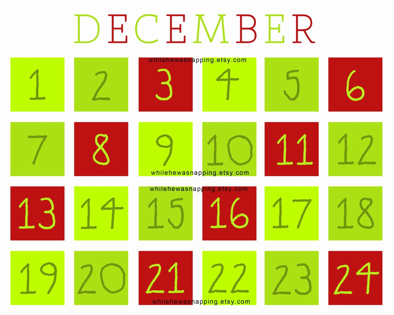 Printable Countdown Calendar Template Awesome Printable Calendar Countdown
