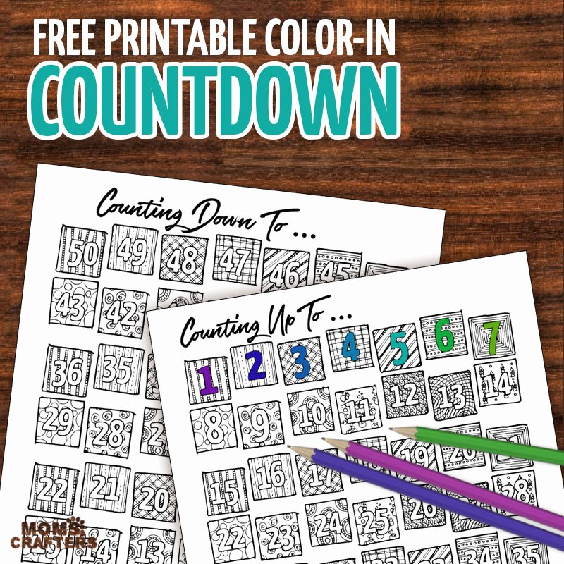Printable Countdown Calendar Template Awesome Tween Birthday Calendar Free Printable Birthday Tracker