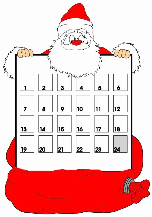Printable Countdown Calendar Template New Entertainment the Wondrous Pics
