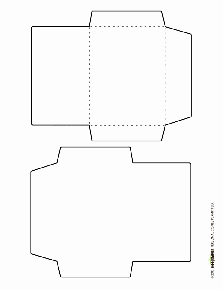 Printable Envelope Template Pdf Awesome Free Envelope Template Featured In the Sept Oct 2012 issue