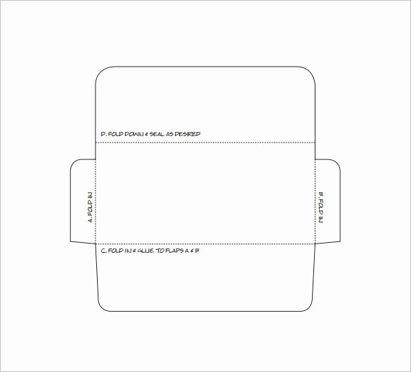 Printable Envelope Template Pdf Elegant Envelope Template 37 Free Printable Psd Pdf Eps Word
