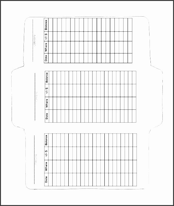 Printable Envelope Template Pdf Fresh 6 Envelop Template In Word Sampletemplatess