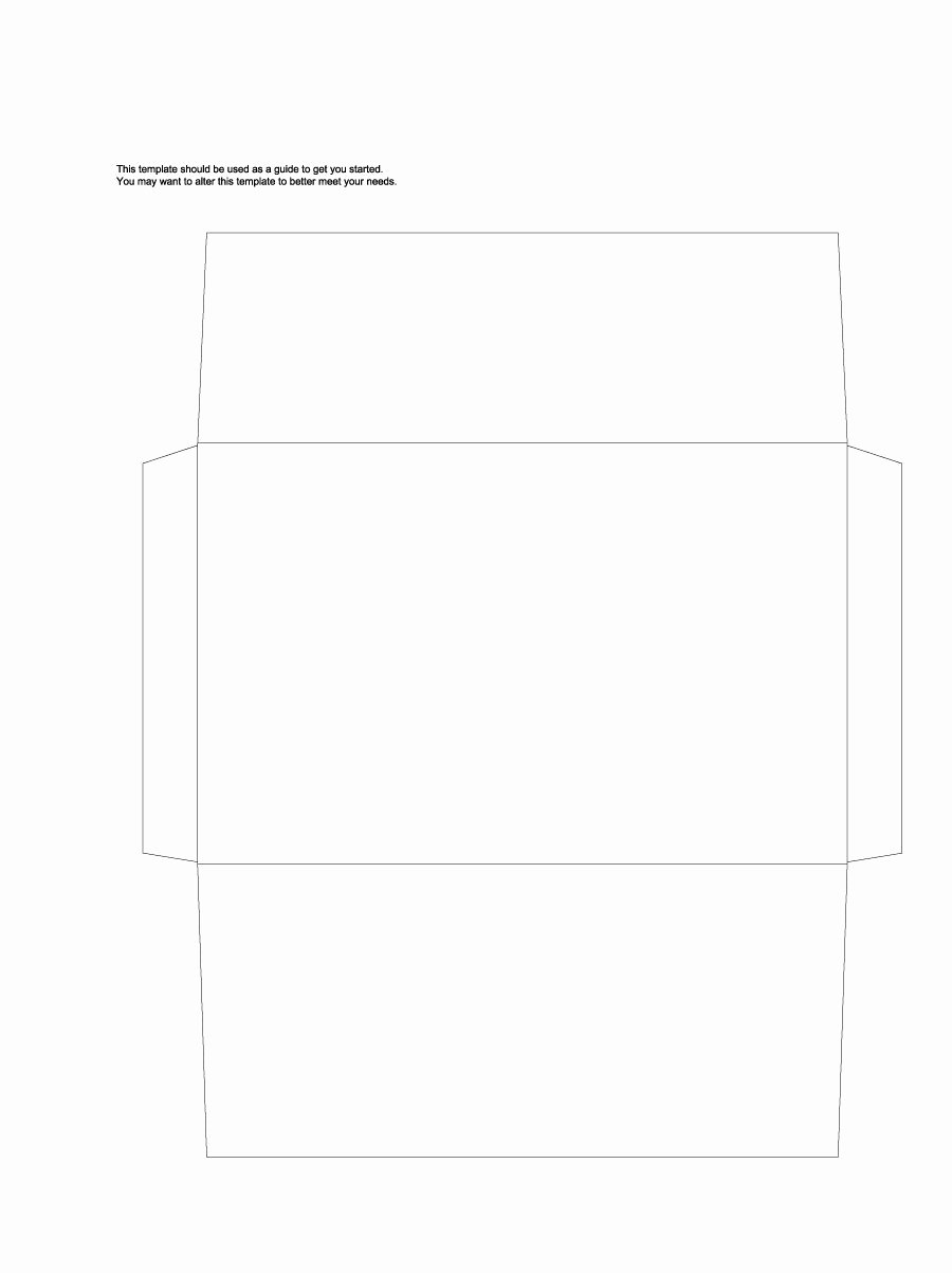 Printable Envelope Template Pdf Luxury 40 Free Envelope Templates Word Pdf Template Lab