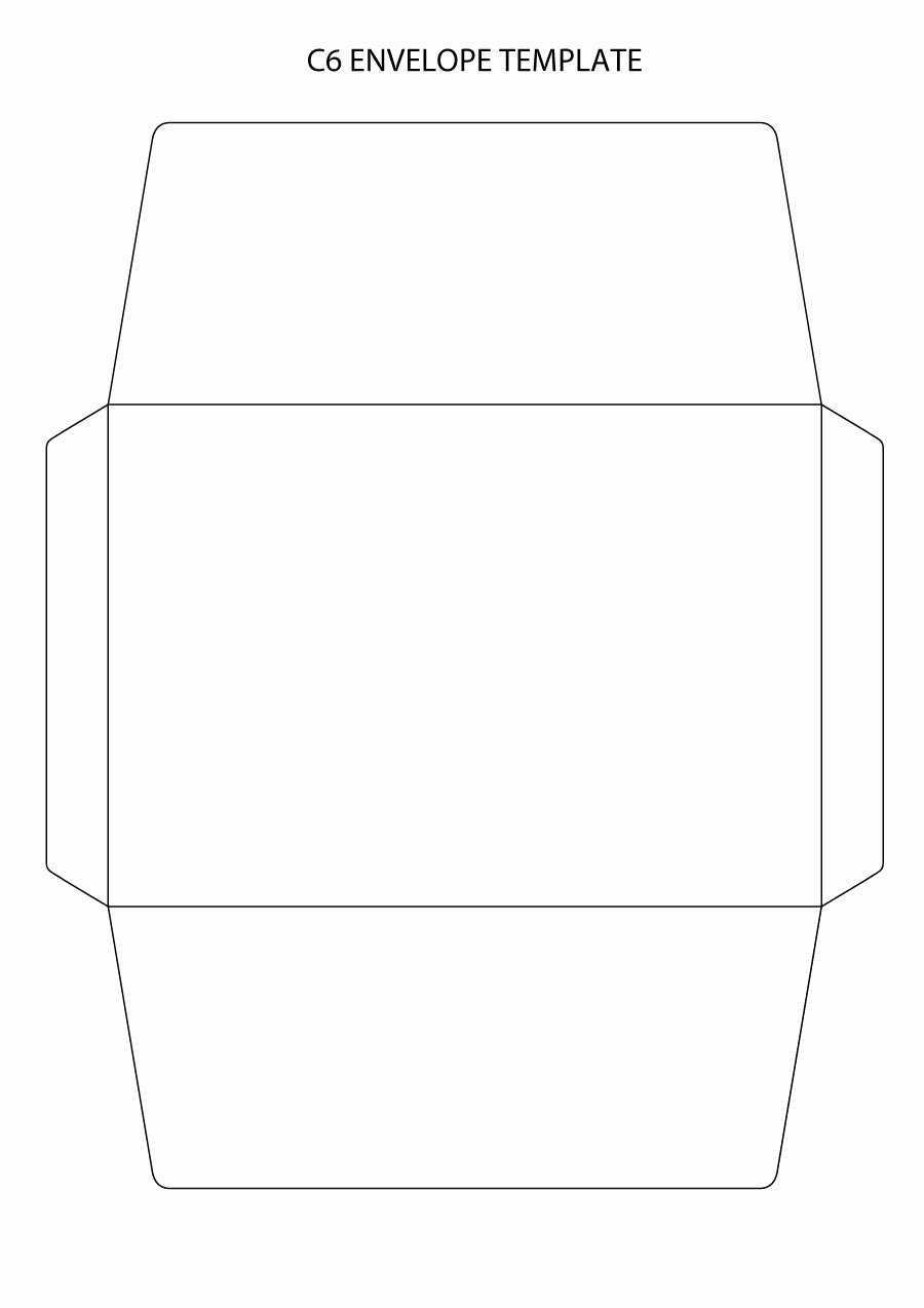 Printable Envelope Template Pdf New 40 Free Envelope Templates Word Pdf Template Lab