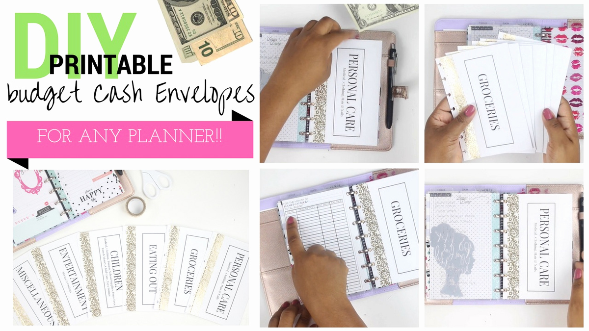 Printable Envelope Template Pdf New Budget Diy Cash Envelopes – Littlemissfancyplans