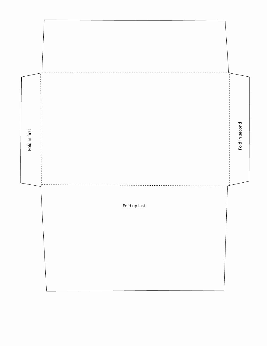 Printable Envelope Template Pdf Unique 40 Free Envelope Templates Word Pdf Template Lab