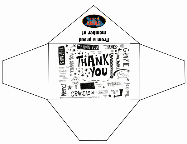 Printable Envelope Template Pdf Unique General Thank You Envelopes