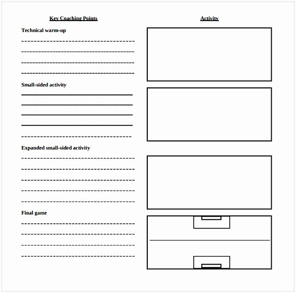 Printable Lesson Plan Template Fresh Blank Lesson Plan Template Pdf