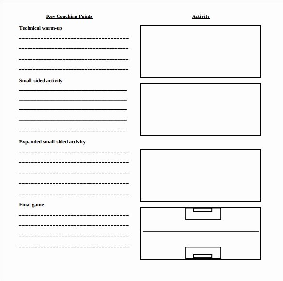Printable Lesson Plan Template Luxury Sample Blank Lesson Plan 10 Documents In Pdf