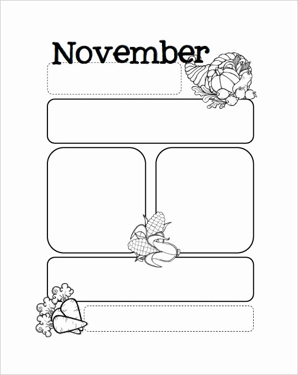 Printable Newsletter Templates Free Elegant Free Preschool Newsletter Templates