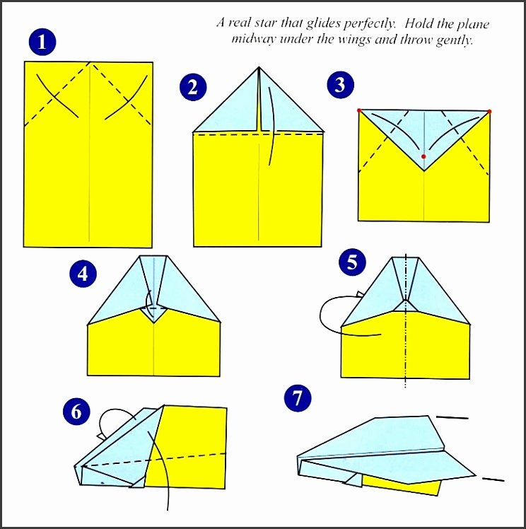 Printable Paper Airplane Template Fresh 8 Paper Airplanes Templates Sampletemplatess