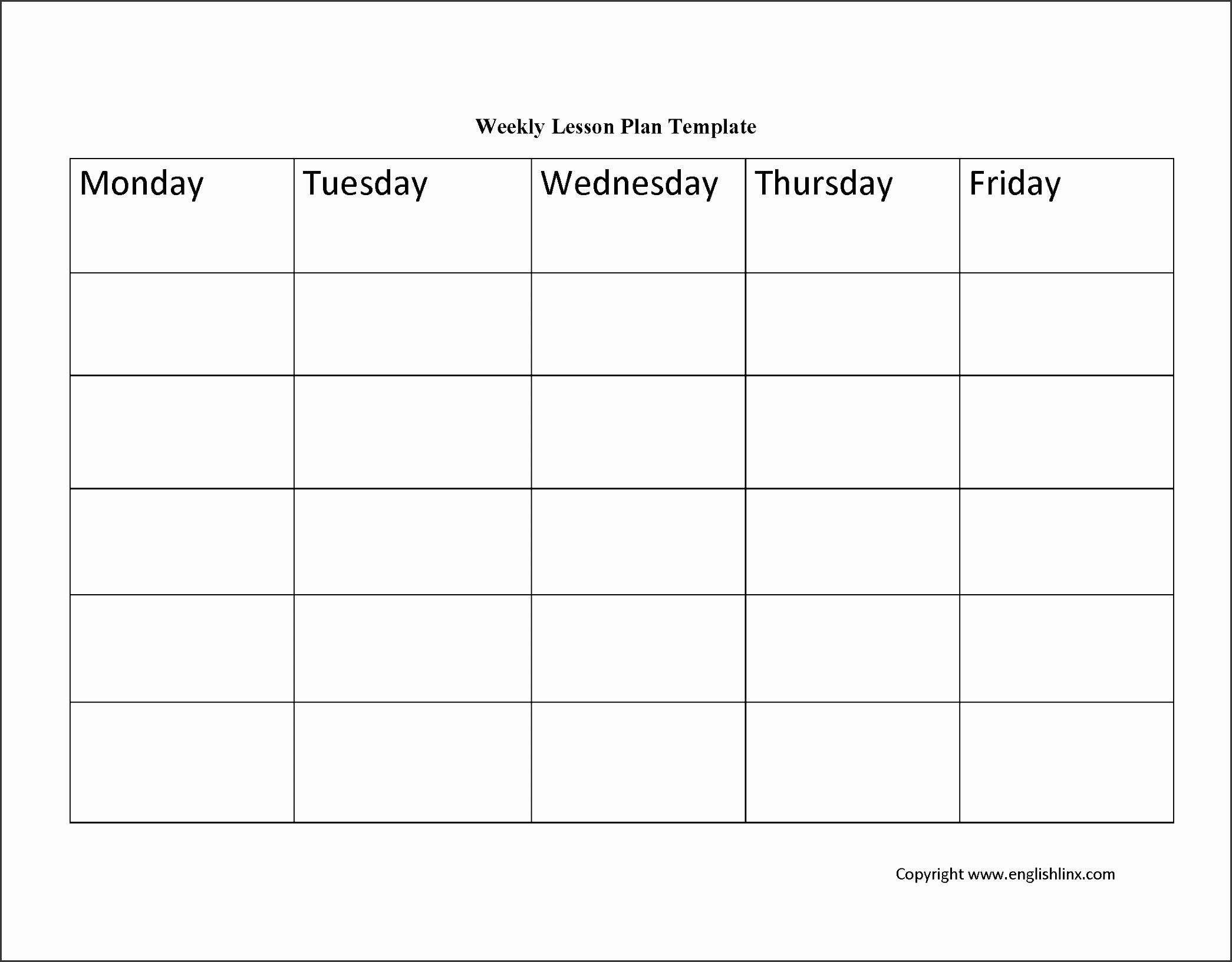 Printable Weekly Lesson Plan Templates Awesome 10 Academic Lesson Planner Template Sampletemplatess