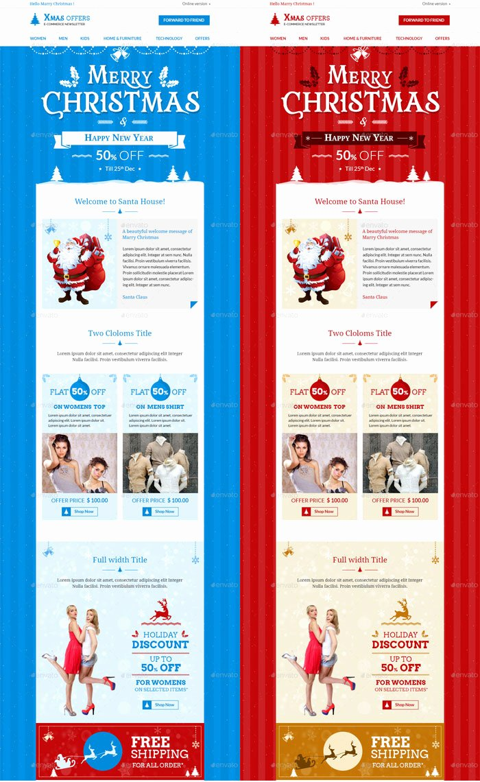 Printed Newsletter Templates Free Best Of 9 Christmas Newsletter Templates to Create Printable and
