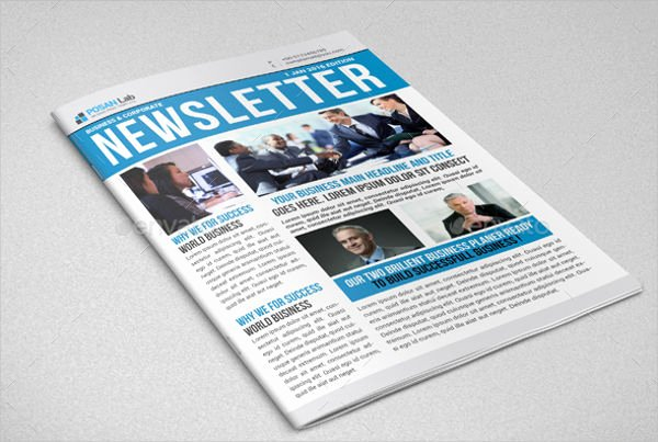 Printed Newsletter Templates Free Elegant 9 Printable Newsletter Templates Free Sample Example