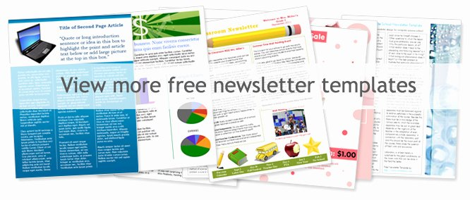 Printed Newsletter Templates Free Fresh Free Church Newsletter Templates Worddraw