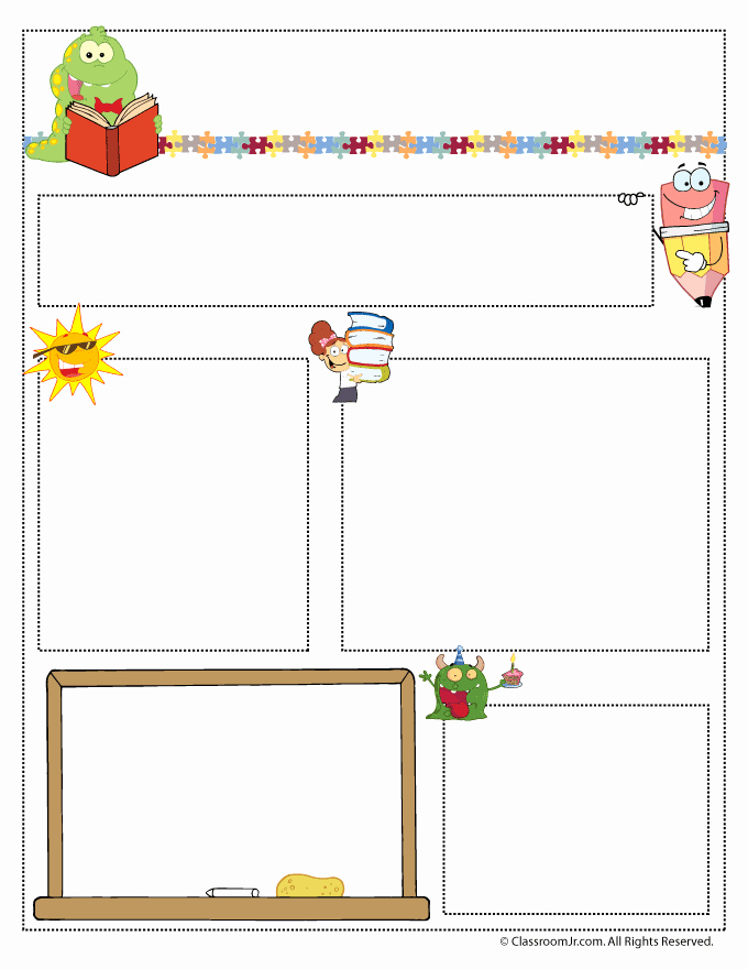Printed Newsletter Templates Free Fresh Teacher Newsletter Templates Teacher Newsletter Templates